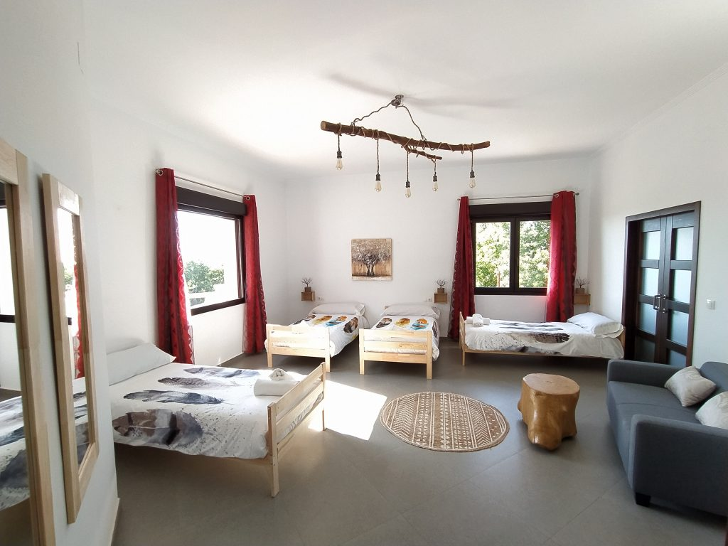 Dormitorio 4 camas